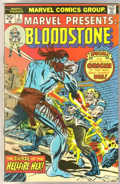 Marvel Presents #s 1 and 2 Bloodstone comic books
