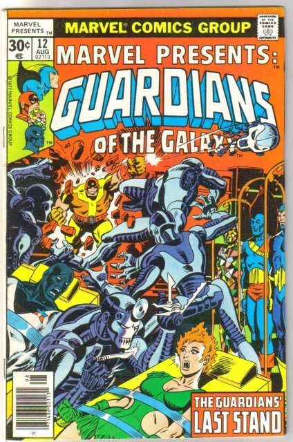 Marvel Presents #12 Guardians of the Galaxy comic book very fine/near mint 9.0