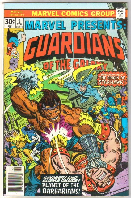 Marvel Presents #9 Guardians of the Galaxy comic book near mint 9.4