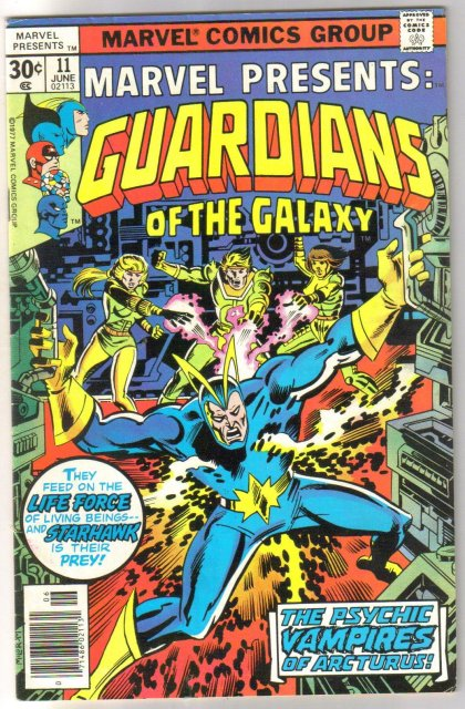 Marvel Presents #11 Guardians of the Galaxy comic book fine/very fine 7.0