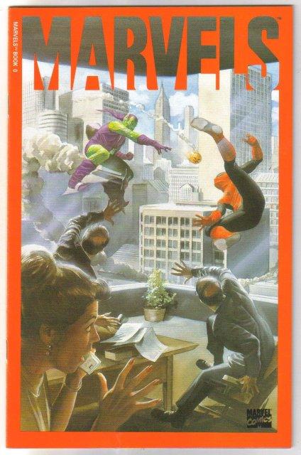 Marvels #0 comic book mint 9.8