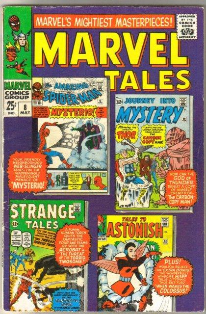 Marvel Tales #8 comic book very good 4.0