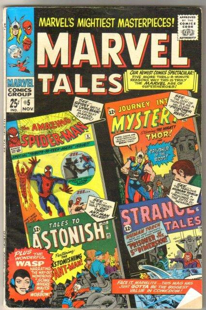 Marvel Tales #5 comic book very good/fine 5.0