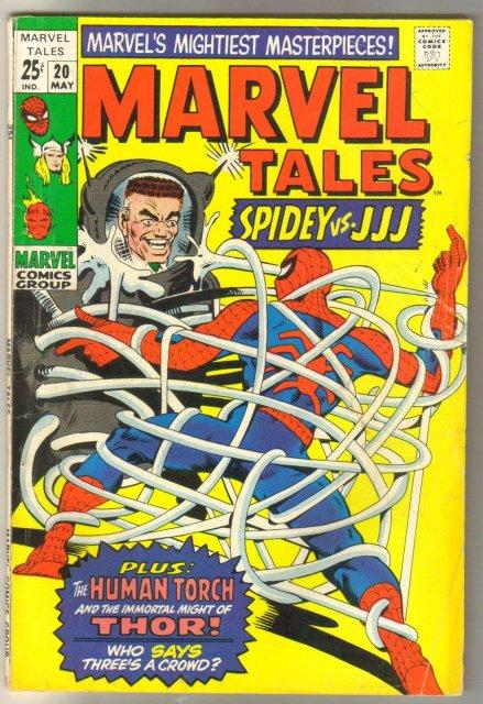 Marvel Tales #20 comic book fine 6.0
