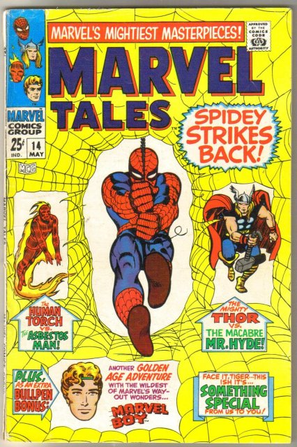 Marvel Tales #14 comic book fine 6.0