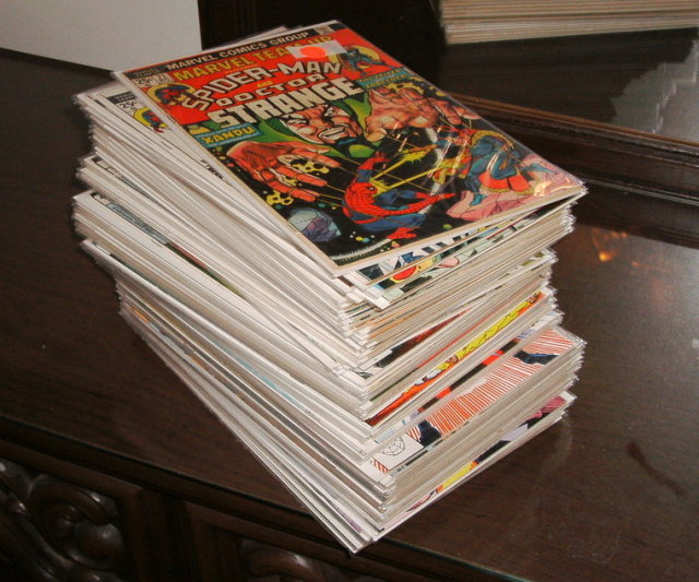 Marvel Team-up collection of 63 different comic books