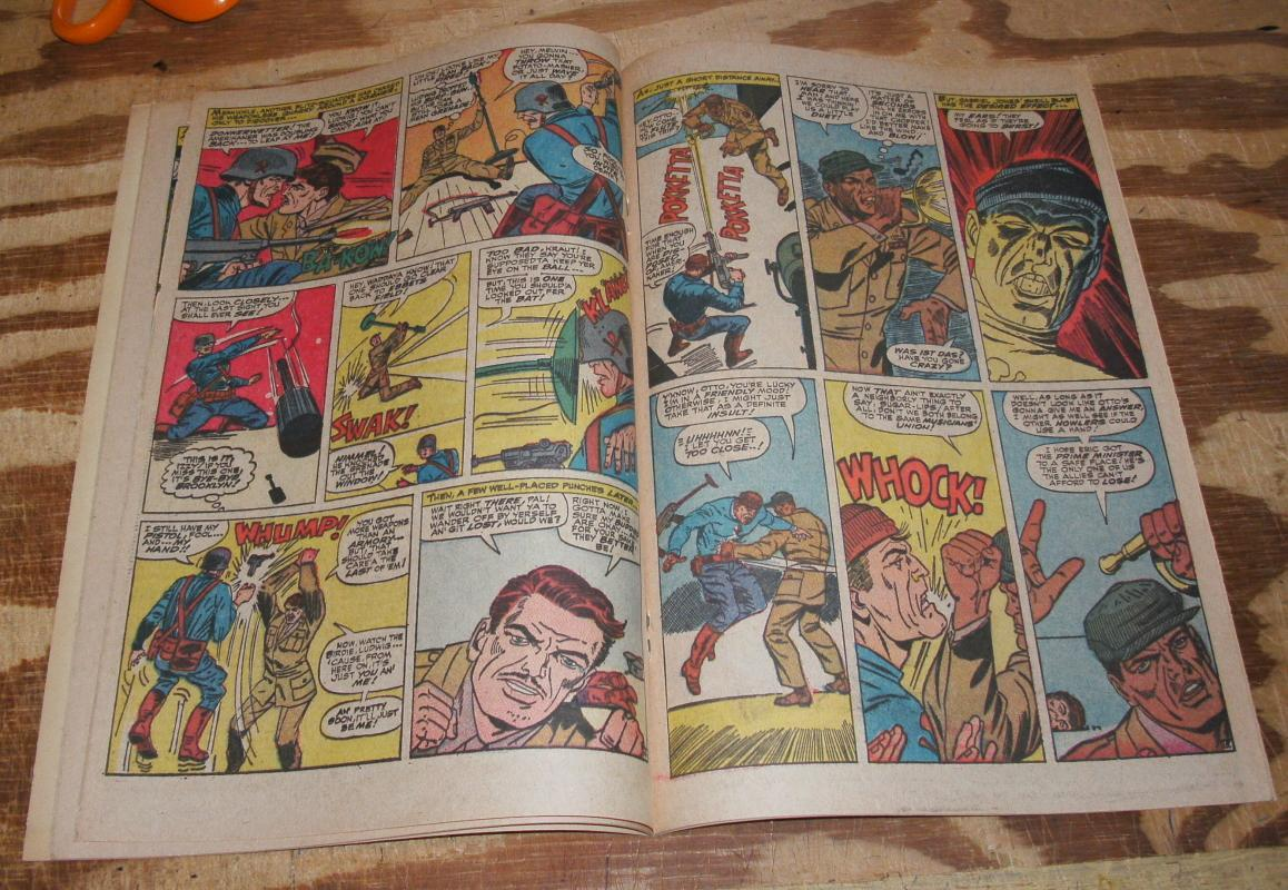 Sgt. Fury and His Howling Commandos #41 comic book very fine/near mint 9.0