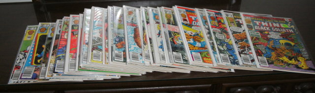 Marvel Two-In-One comic book collection of 53 different issues