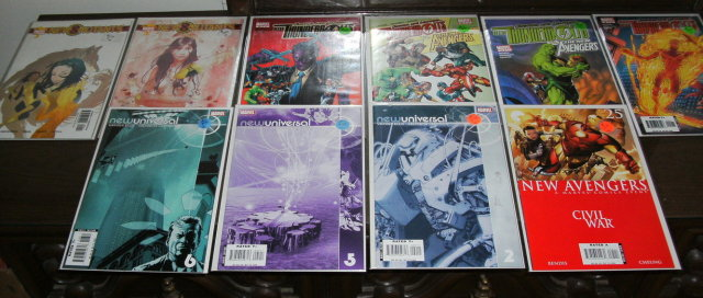 New ... Marvel collection of comic books 10 issues and 4 titles mostly mint 9.8