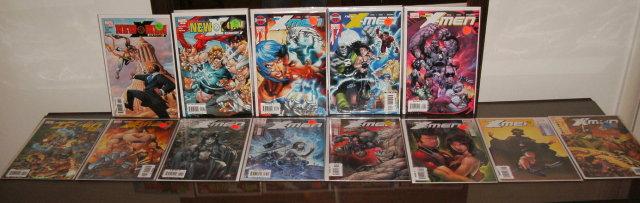Assortment of 13 New X-Men comic books