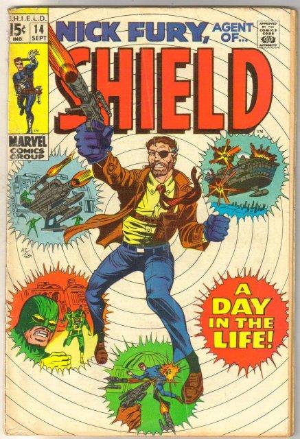 Nick Fury, Agent of SHIELD #14 comic book very good/fine 5.0