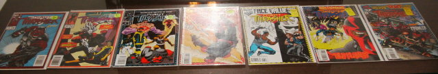 Night Thrasher 7 issue comic book collection near  mint 9.4