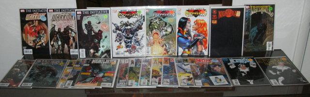 Assortment of 22 different Marvel comic books