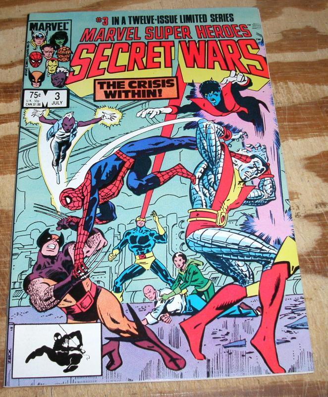 Marvel Super Heroes Secret Wars #3 mint 9.8
