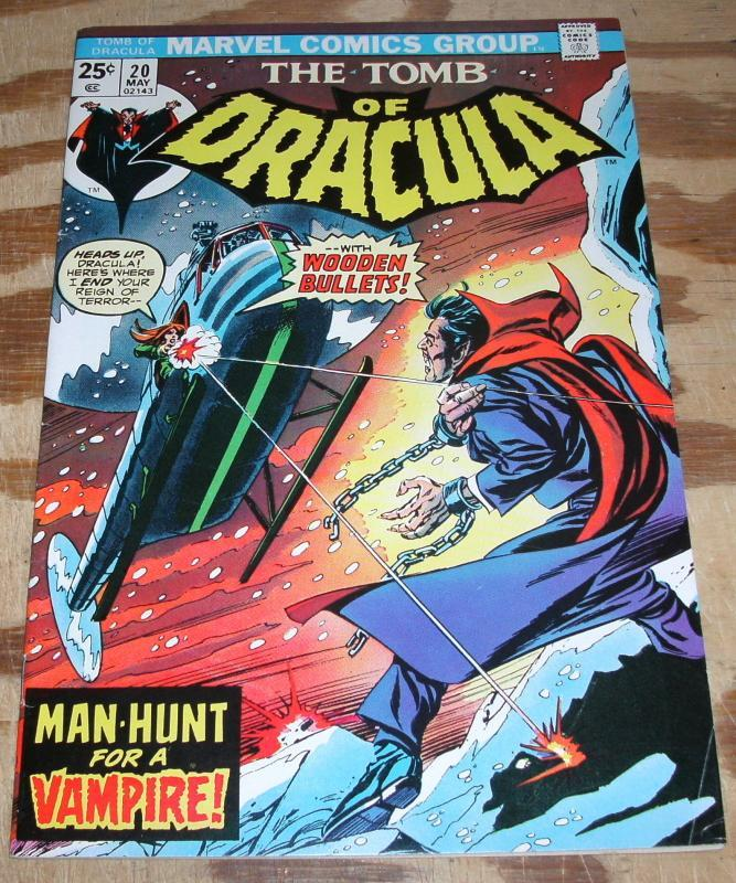 Tomb of Dracula #20 vf 8.0