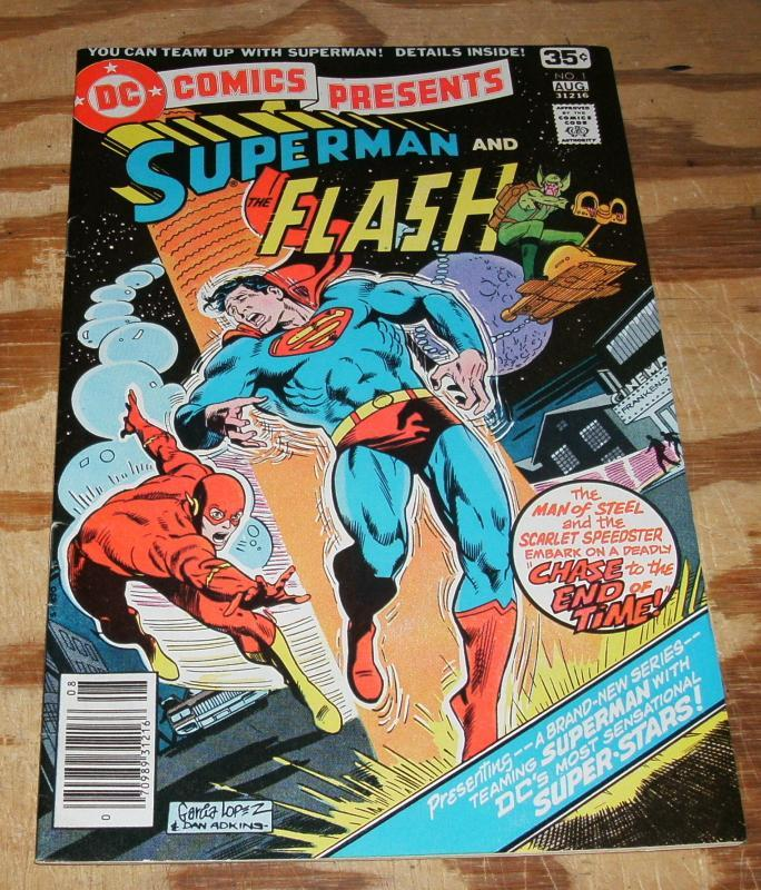 DC Comics Presents #1 Superman and Flash  very fine plus 8.5