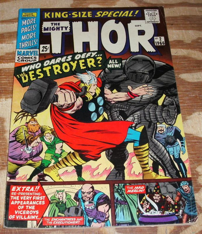 The Mighty Thor king sized special #2 very fine 8.0