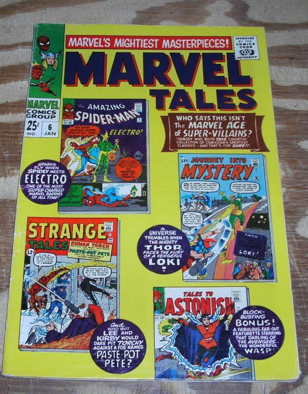 Marvel Tales #6 comic book fine/very fine 7.0