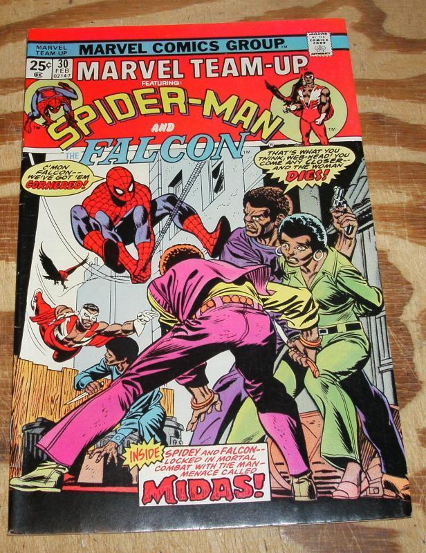 Marvel Team-up #30 near mint 9.4