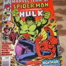Marvel Team-up #53 featuring Spider-man and Hulk and X-men very good/fine 5.0