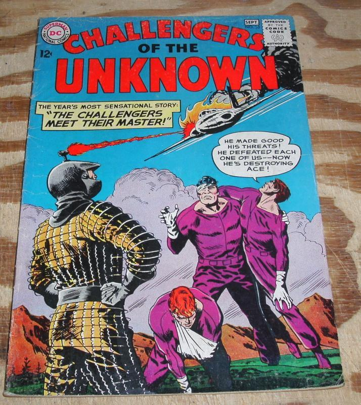 Challengers of the Unknown #33 very good/fine 5.0