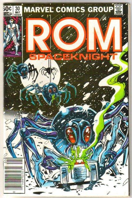 Rom Spaceknight #30 comic book near mint 9.4