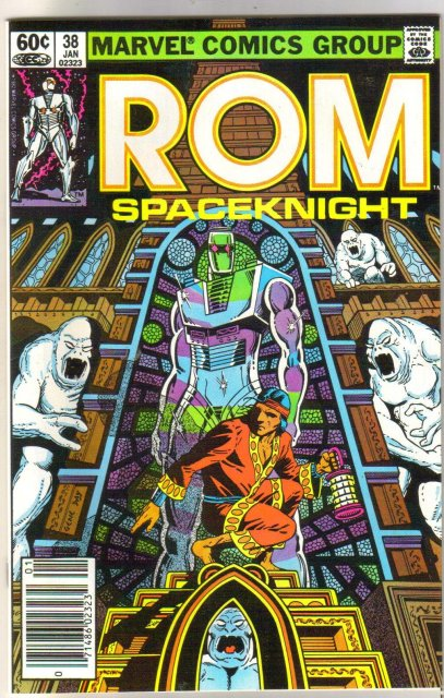 Rom Spaceknight #38 comic book near mint 9.4