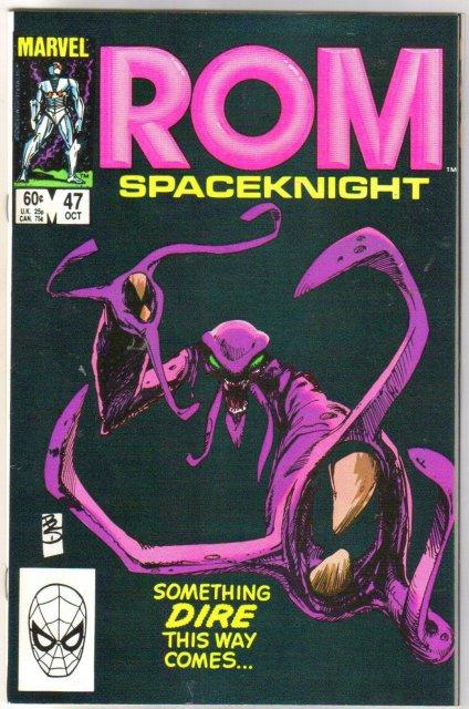 Rom Spaceknight #47 comic book near mint 9.4