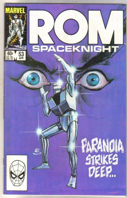 Rom Spaceknight #53 comic book near mint 9.4