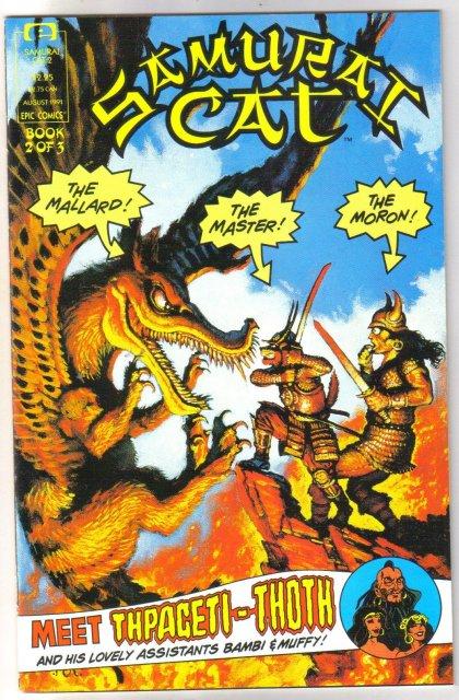 Samurai Cat #2 comic book mint 9.8