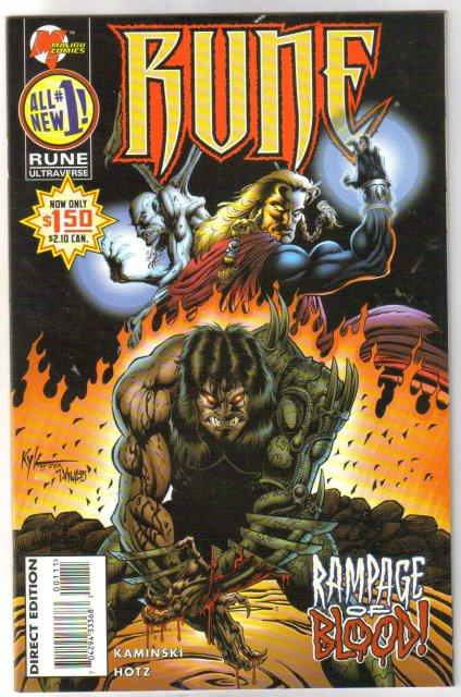 Rune #1 comic book mint 9.8