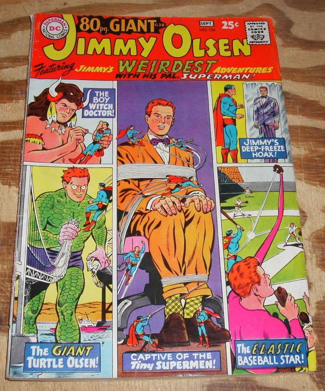 Superman's Pal Jimmy Olsen #104 fine 6.0