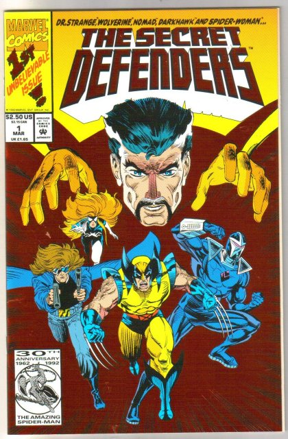 Secret Defenders #1 comic book mint 9.8