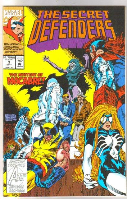 Secret Defenders #3 comic book mint 9.8