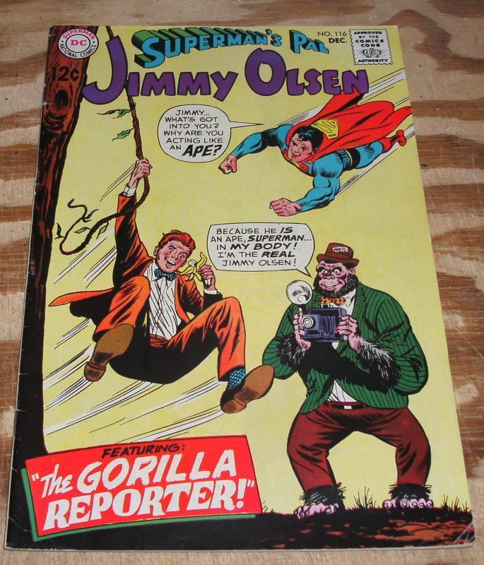 Superman's Pal Jimmy Olsen #116 very fine 8.0