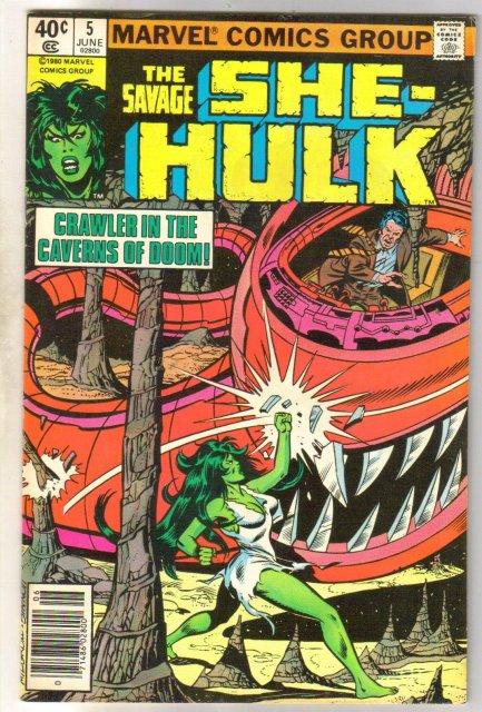 The Savage She-Hulk #5 comic book very fine 8.0