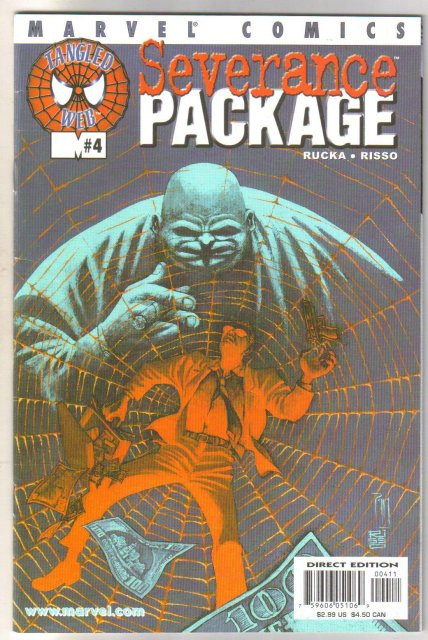 Severance Package #4 comic book near mint 9.4