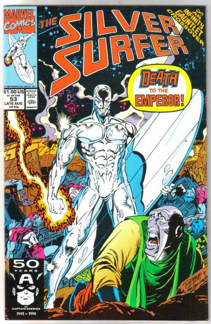 Silver Surfer volume 3 #53 comic book mint 9.8