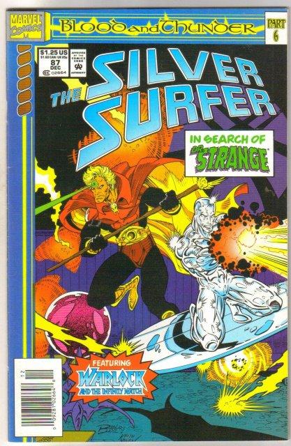 Silver Surfer volume 3 #87 comic book near mint 9.4