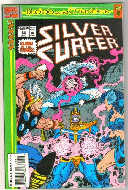 Silver Surfer volume 3 #88 comic book near mint 9.4