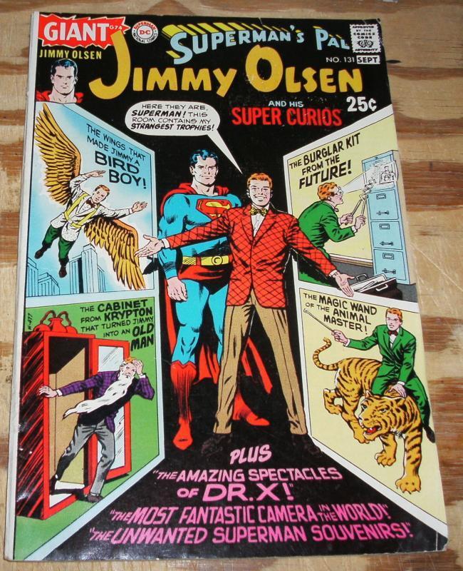 Superman's Pal Jimmy Olsen #131 comic book fine 6.0