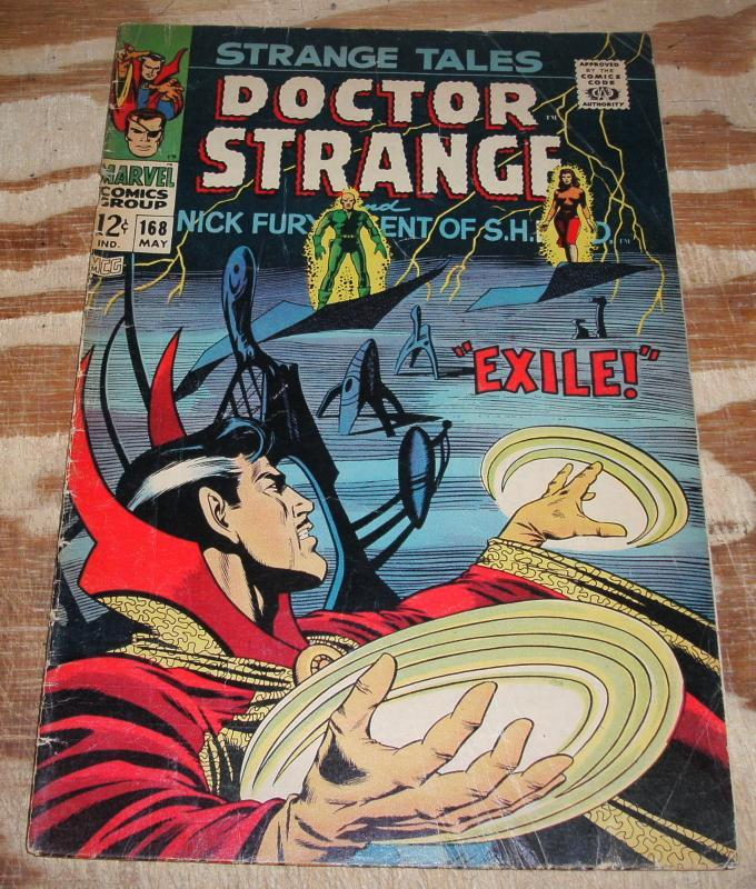 Strange Tales #168 very good/fine 5.0