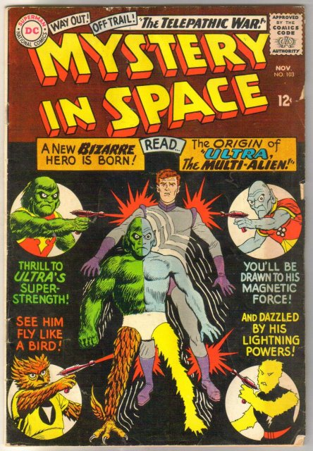 Mystery in Space #103 comic book good/very good 3.0