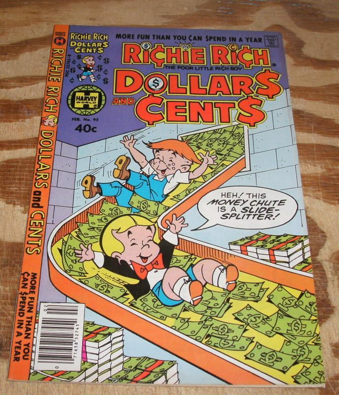 Richie Rich Dollars and Cents #95 near mint 9.4
