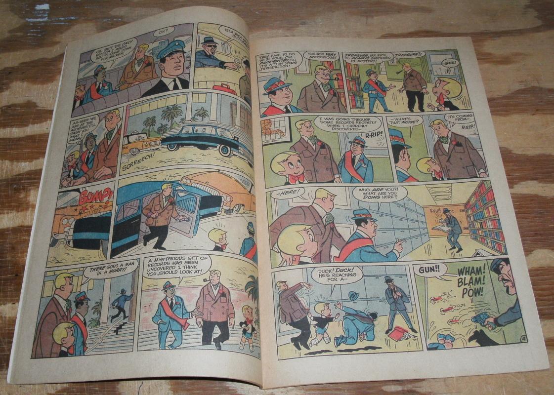 Richie Rich Fortunes #5 comic book vf+ 8.5