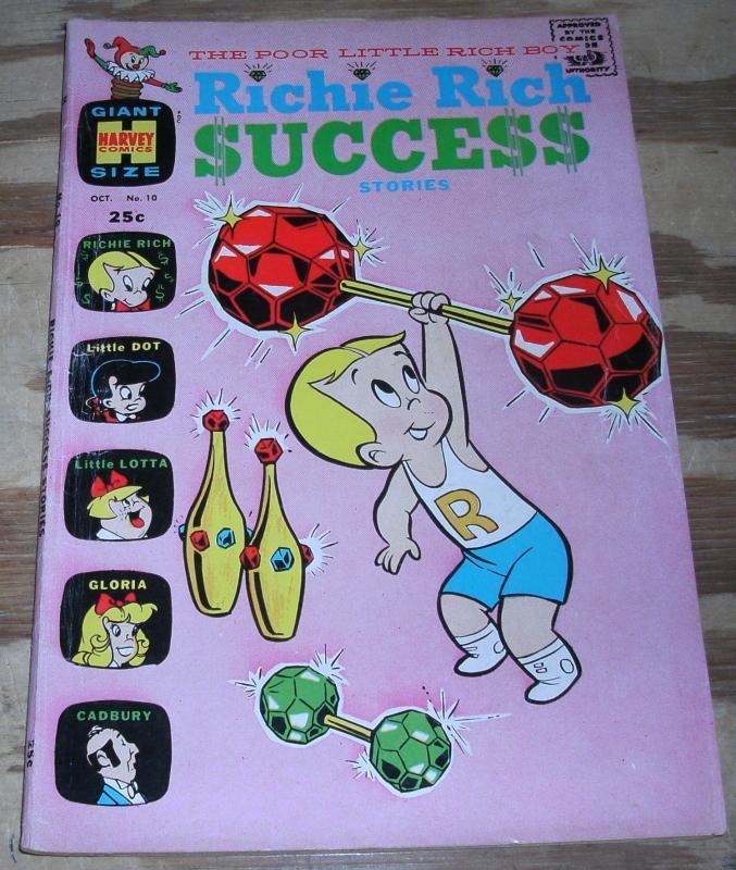 Richie Rich Success Stories #10 very fine 8.0