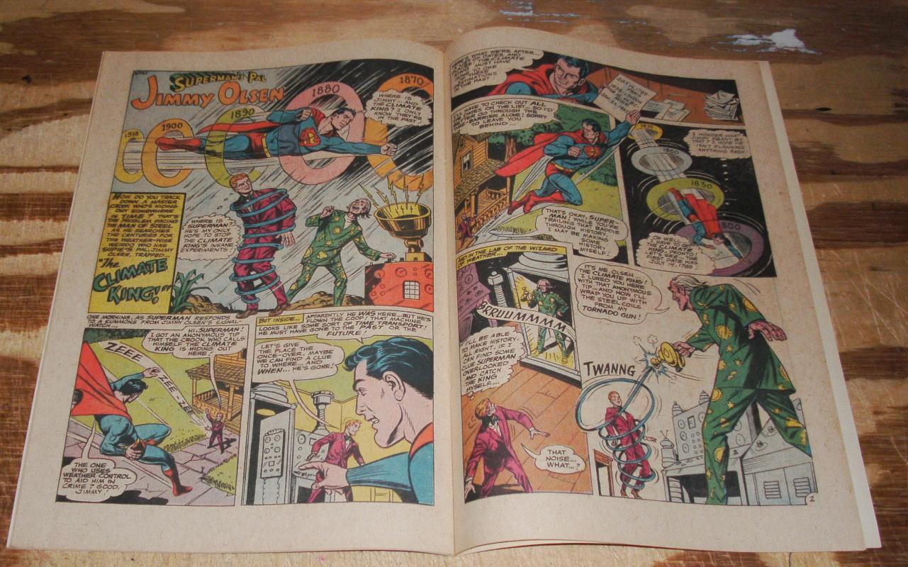 Superman's Pal Jimmy Olsen #120 very fine/near mint 9.0