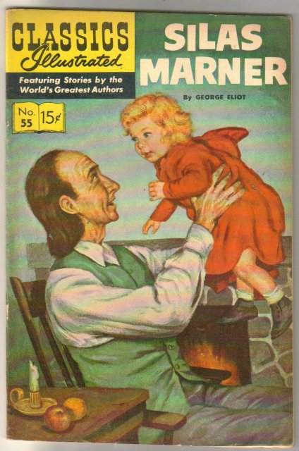 Classic Illustrated #55 hrn#165 Silas Marner by George Eliot comic book very fine/near mint 9.0