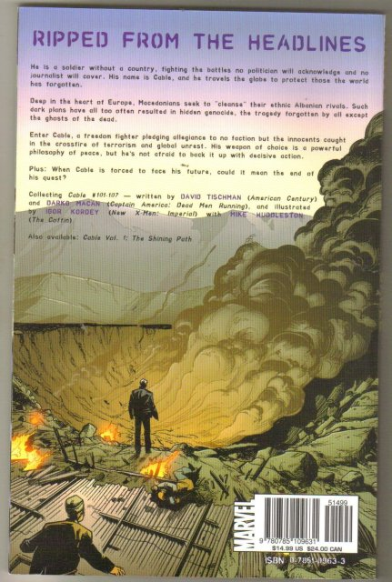 Cable The End trade paperback brand new mint