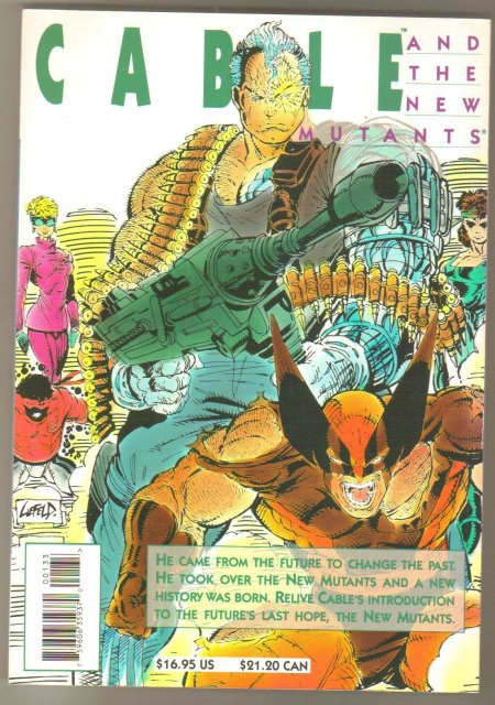 Cable and the New Mutants Simonson trade paperback brand new mint